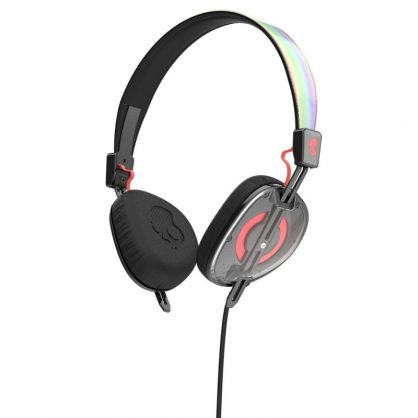 Наушники Skullcandy Knockout Mash-Up/Multi/Coral Mic2