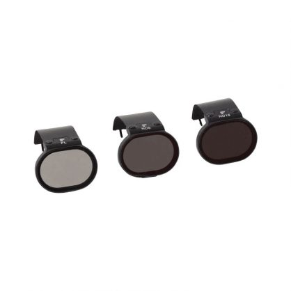 Фильтры DJI SPARK FILTER 3-PACK (Includes a fixed Polarizer, ND8 filter and ND16 filter)