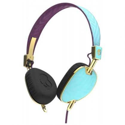 Наушники Skullcandy Knockout Robin/Smoked Purple/Gold Mic3