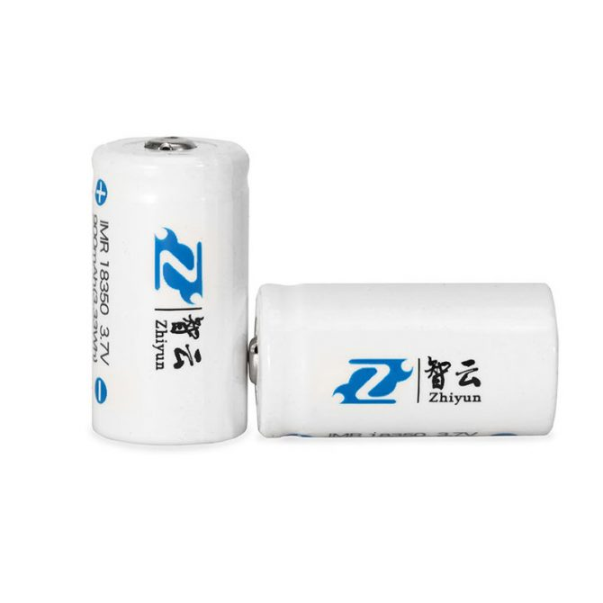 Аккумуляторы Zhiyun-Tech Li-Ion 18350, 900mAh (2pcs)