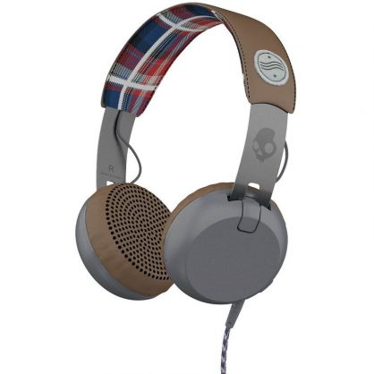 Наушники Scullcandy Grind Americana/Plaid/Gray Ttech