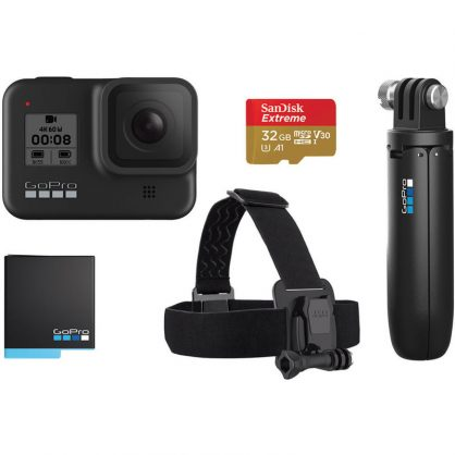 Комплект GoPro HERO 8 Black - Holiday Bundle