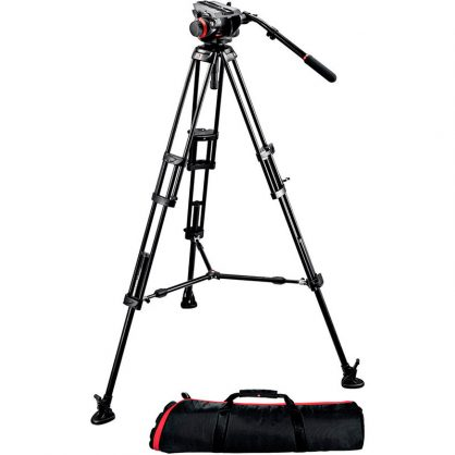 Видеокомплект Manfrotto (504HD,546BK)