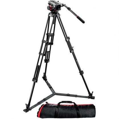 Видеокомплект Manfrotto (504HD,546GBK)