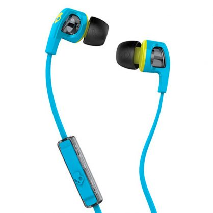 Наушники Skullcandy Smokin Bud 2 Hot Blue/Hot Lime/Hot Lime Mic1 (S2PGFY-327)